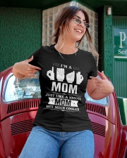 ASL Deaf Mom Cooler Ladies T-Shirt apparel-ladies-t-shirt-lifestyle-01