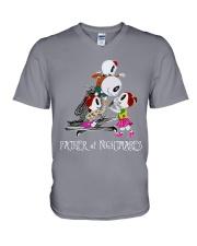 Shipping worldwide V-Neck T-Shirt thumbnail
