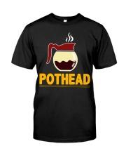 POTHEAD  Coffee Lover- Asst Colors - Unisex Hoodie Classic T-Shirt thumbnail