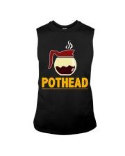 POTHEAD  Coffee Lover- Asst Colors - Unisex Hoodie Sleeveless Tee thumbnail