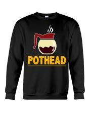 POTHEAD  Coffee Lover- Asst Colors - Unisex Hoodie Crewneck Sweatshirt thumbnail