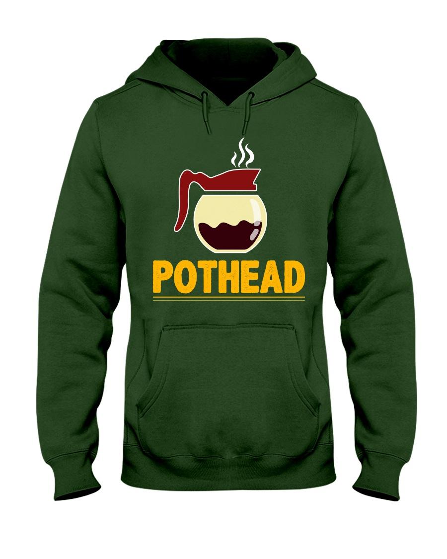 POTHEAD  Coffee Lover- Asst Colors - Unisex Hoodie Hooded Sweatshirt