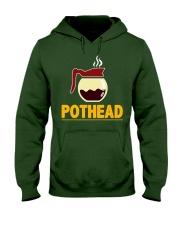 POTHEAD  Coffee Lover- Asst Colors - Unisex Hoodie Hooded Sweatshirt front