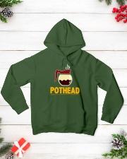 POTHEAD  Coffee Lover- Asst Colors - Unisex Hoodie Hooded Sweatshirt lifestyle-holiday-hoodie-front-3