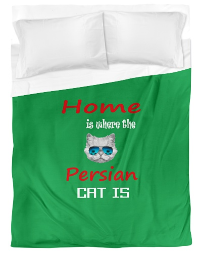 Home is where the Persian Cat is
