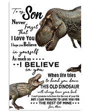 Dinosaurs Grandson Poster 11x17 Poster front
