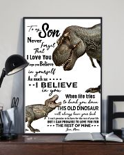 Dinosaurs Grandson Poster 11x17 Poster lifestyle-poster-2