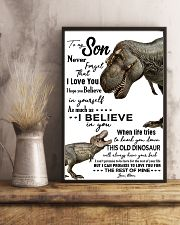 Dinosaurs Grandson Poster 11x17 Poster lifestyle-poster-3