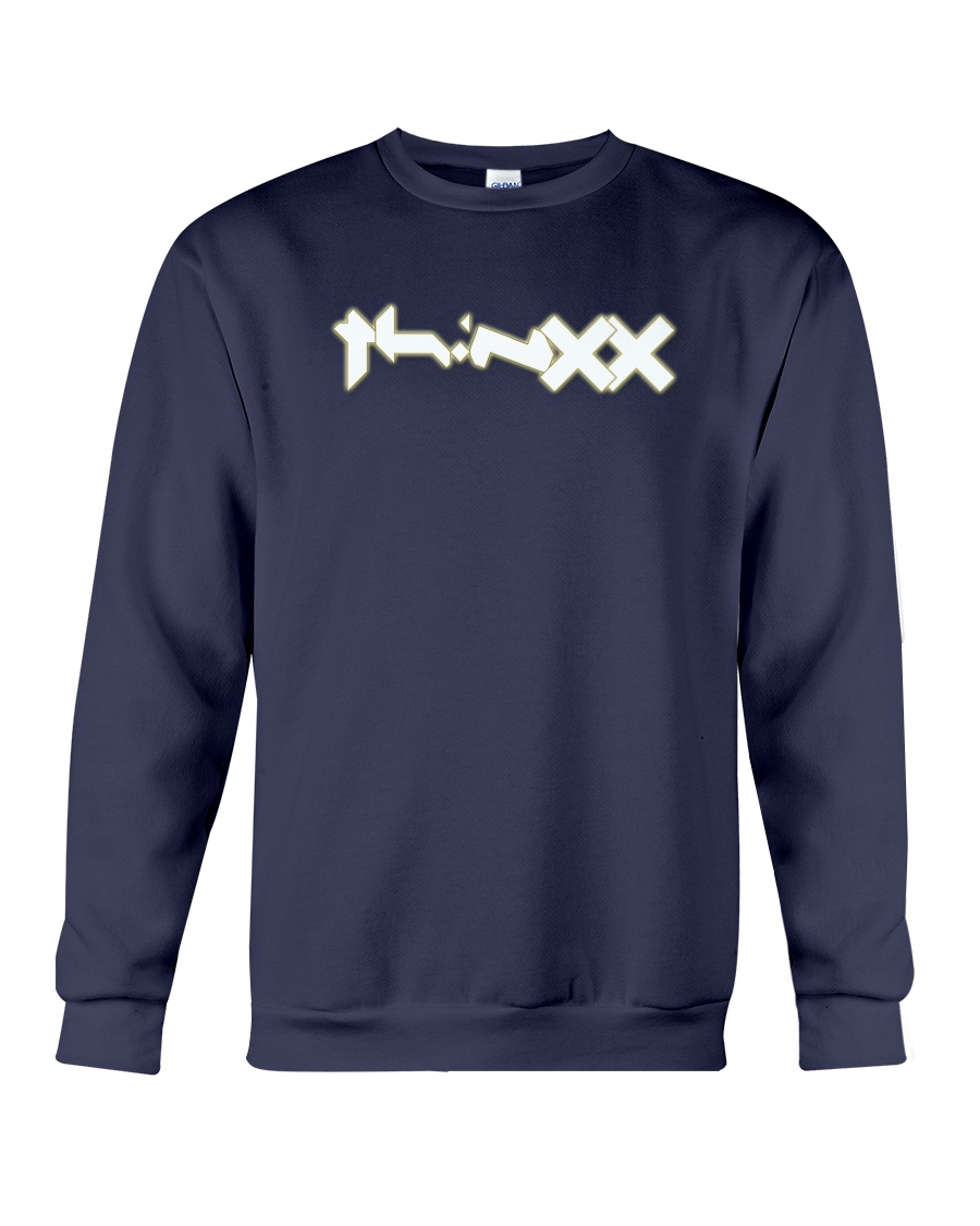 ThiNXx - 2018 Logo White Crewneck Sweatshirt