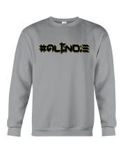 ALTiNDIE - ThiNXx - Black Crewneck Sweatshirt front