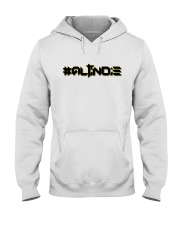 ALTiNDIE - ThiNXx - Black Hooded Sweatshirt front