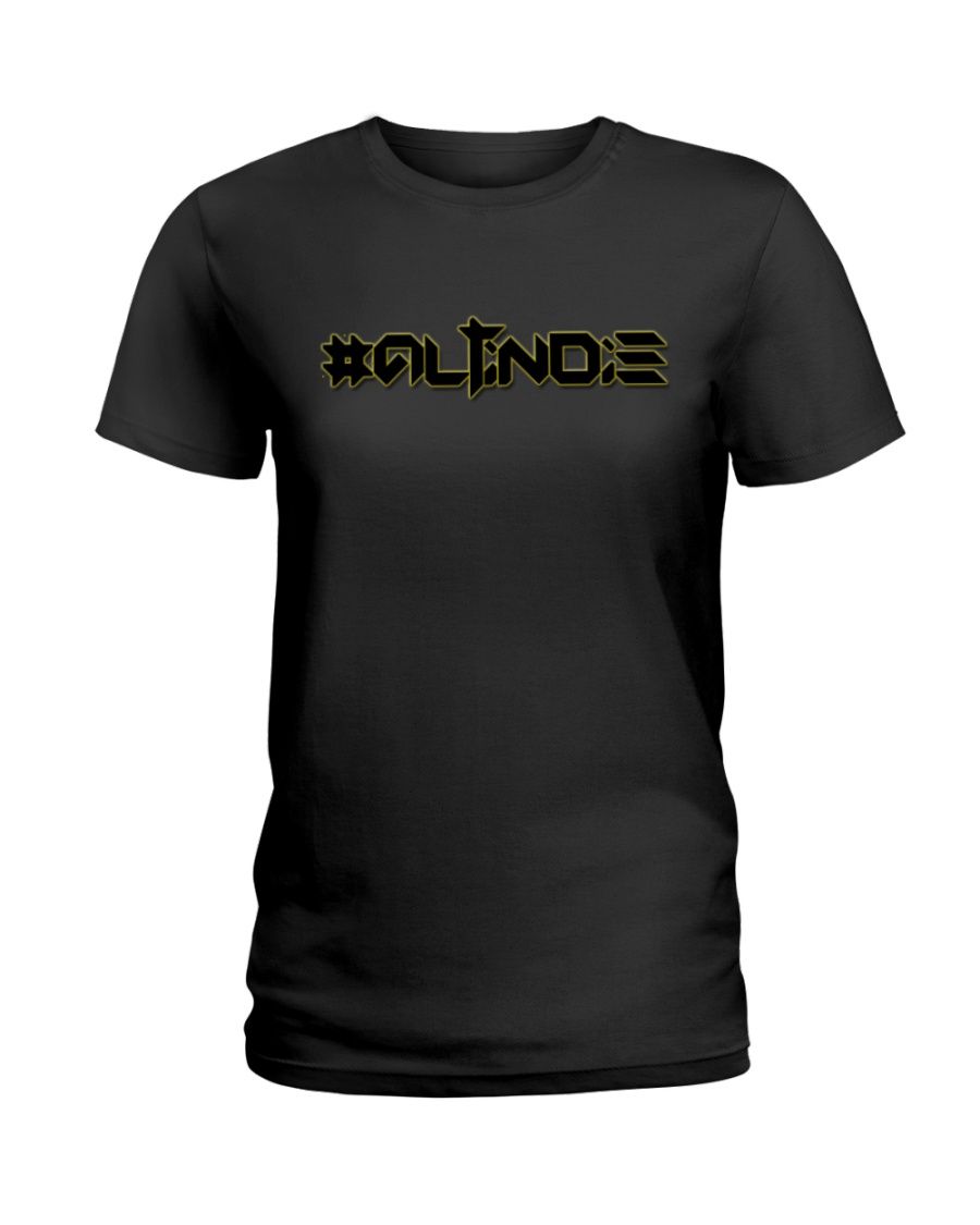 ALTiNDIE - ThiNXx - Black Ladies T-Shirt