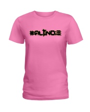 ALTiNDIE - ThiNXx - Black Ladies T-Shirt thumbnail