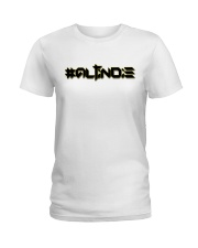 ALTiNDIE - ThiNXx - Black Ladies T-Shirt tile