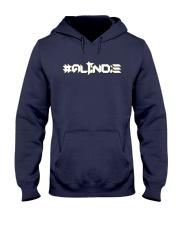 ALTiNDIE - ThiNXx - White Hooded Sweatshirt front