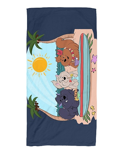 ChowChow Beach Towel