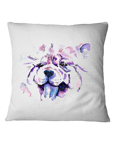 Square Pillowcase with Chow CHow Design