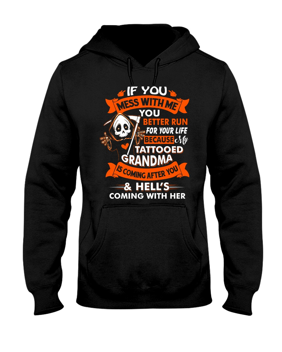 Don't You Mess With Me  Hooded Sweatshirt