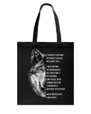 Wolf Lovers Tote Bag thumbnail