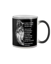 Wolf Lovers Color Changing Mug thumbnail