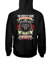 Wolf Lovers Hooded Sweatshirt back