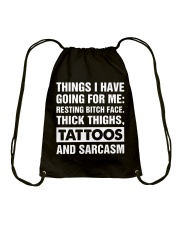 Its For You Only T-shirt Drawstring Bag thumbnail