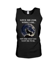 Wolf Lovers Unisex Tank thumbnail
