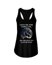 Wolf Lovers Ladies Flowy Tank front