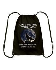 Wolf Lovers Drawstring Bag thumbnail