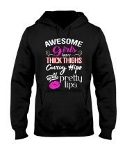 AWESOME GIRLS Hooded Sweatshirt front
