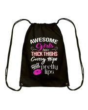 AWESOME GIRLS Drawstring Bag thumbnail