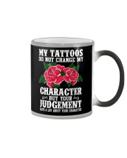 I LOVE MY TATTOOS Color Changing Mug thumbnail