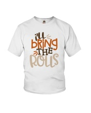 TB0509 - Baby Funny Thanksgiving Youth T-Shirt front