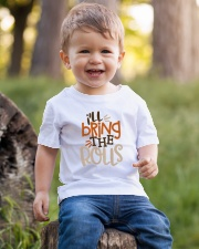 TB0509 - Baby Funny Thanksgiving Youth T-Shirt lifestyle-youth-tshirt-front-4