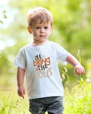 TB0509 - Baby Funny Thanksgiving Youth T-Shirt lifestyle-youth-tshirt-front-5