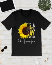 TB0509 - It's beautiful day to save lives Classic T-Shirt lifestyle-mens-crewneck-front-17