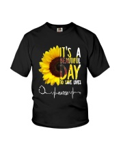 TB0509 - It's beautiful day to save lives Youth T-Shirt thumbnail