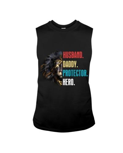 Husband Daddy Protector Hero Lion Shirt