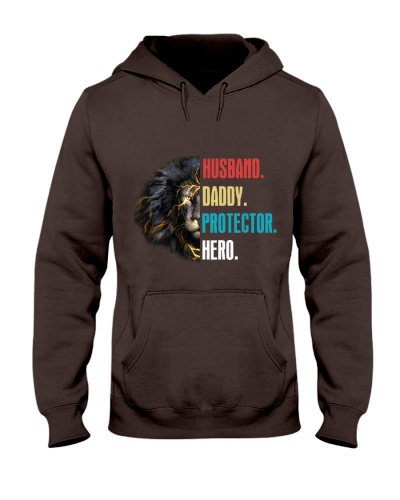 Husband Daddy Protector Hero Lion Shirt