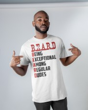 Being Exceptional Among Regular Dudes Classic T-Shirt apparel-classic-tshirt-lifestyle-front-32