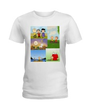 Charlie Brown Tee Shirt Ladies T-Shirt front
