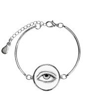 Eye of God Metallic Circle Bracelet thumbnail