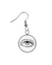 Eye of God Circle Earrings thumbnail