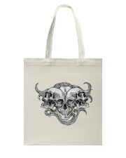 The composition of skulls Tote Bag thumbnail