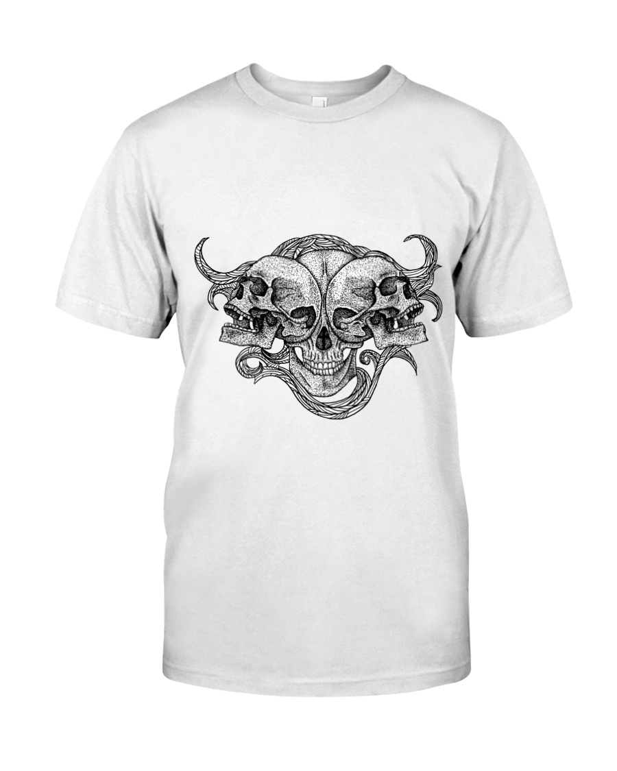 The composition of skulls Classic T-Shirt