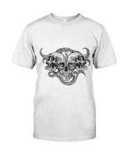 The composition of skulls Classic T-Shirt front