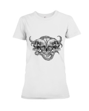 The composition of skulls Premium Fit Ladies Tee thumbnail