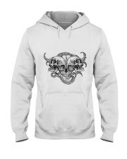 The composition of skulls Hooded Sweatshirt thumbnail