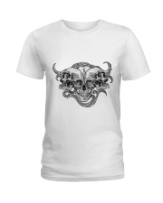 The composition of skulls Ladies T-Shirt thumbnail