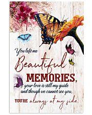 FAM10115CV - You Left Me Beautiful Memories Vertical Poster tile